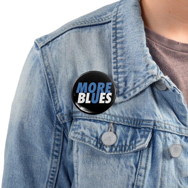 More Blues Accessories Button by Cornerstore Classics