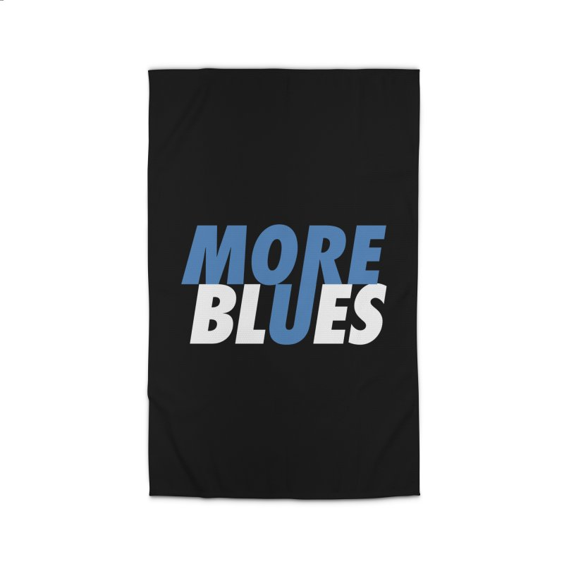 More Blues Home Rug by Cornerstore Classics