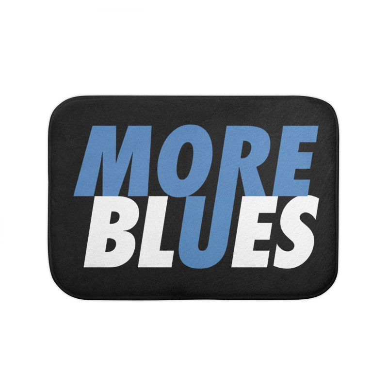 More Blues Home Bath Mat by Cornerstore Classics