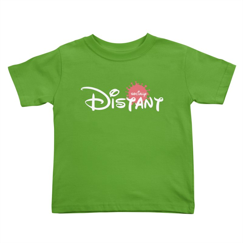 Socially Distant Kids Toddler T-Shirt by Cornerstore Classics