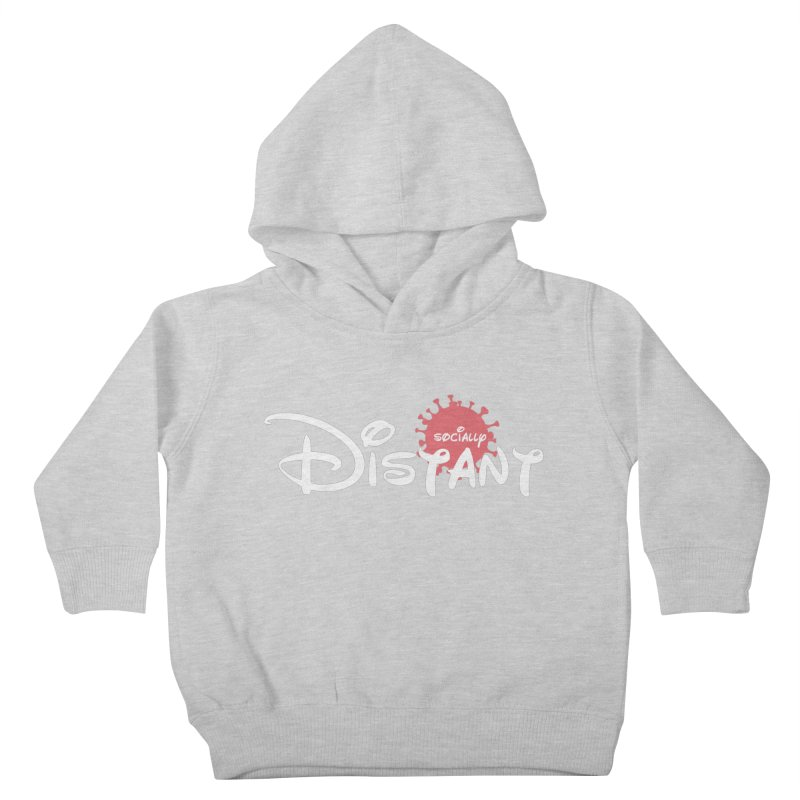 Socially Distant Kids Toddler Pullover Hoody by Cornerstore Classics