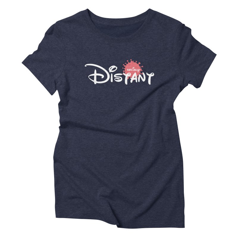 Socially Distant Women's T-Shirt by Cornerstore Classics