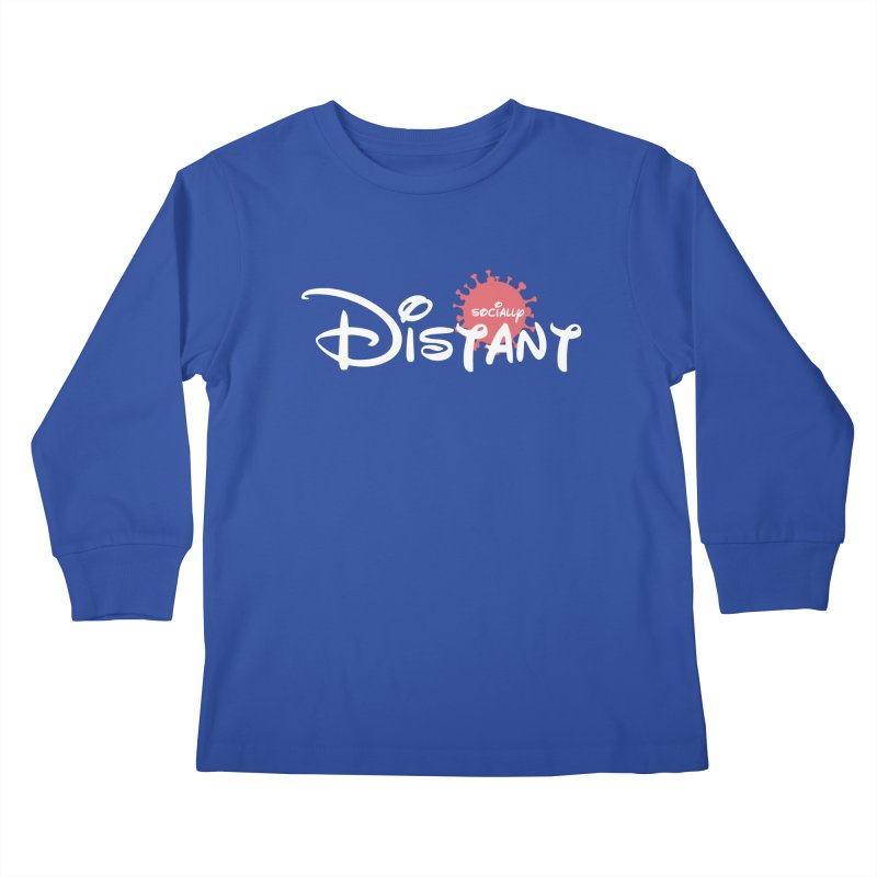 Socially Distant Kids Longsleeve T-Shirt by Cornerstore Classics