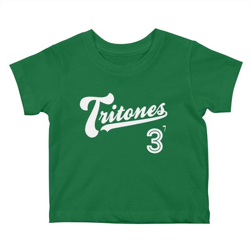 Tritones Kids Baby T-Shirt by Cornerstore Classics