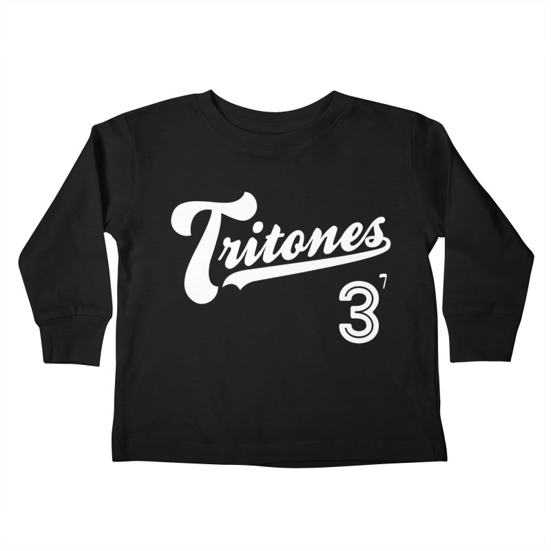 Tritones Kids Toddler Longsleeve T-Shirt by Cornerstore Classics