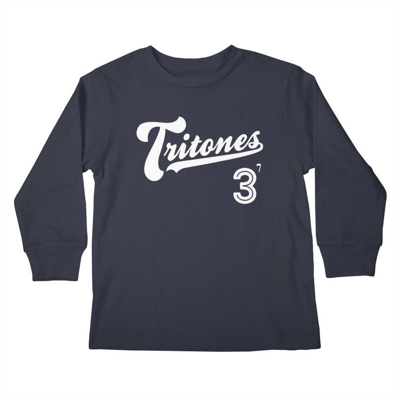 Tritones Kids Longsleeve T-Shirt by Cornerstore Classics