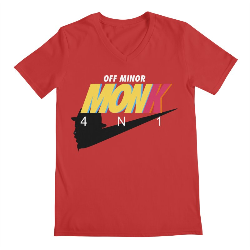 Air Monk 4N1 Men's V-Neck by Cornerstore Classics