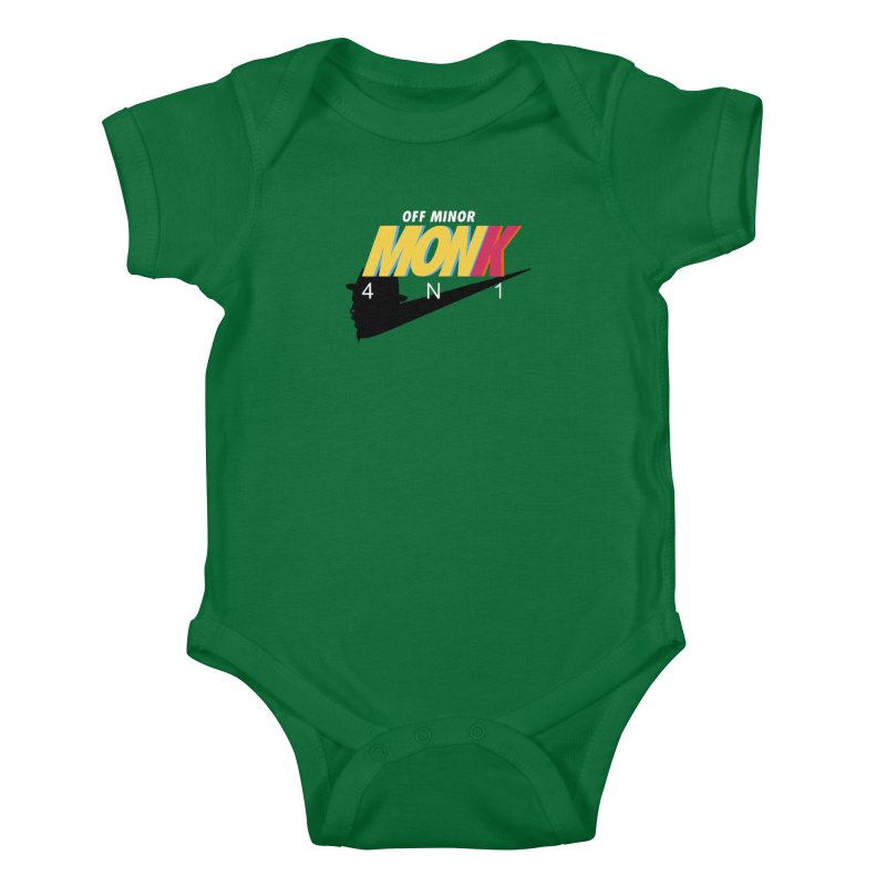 Air Monk 4N1 Kids Baby Bodysuit by Cornerstore Classics