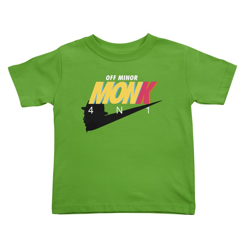 Air Monk 4N1 Kids Toddler T-Shirt by Cornerstore Classics