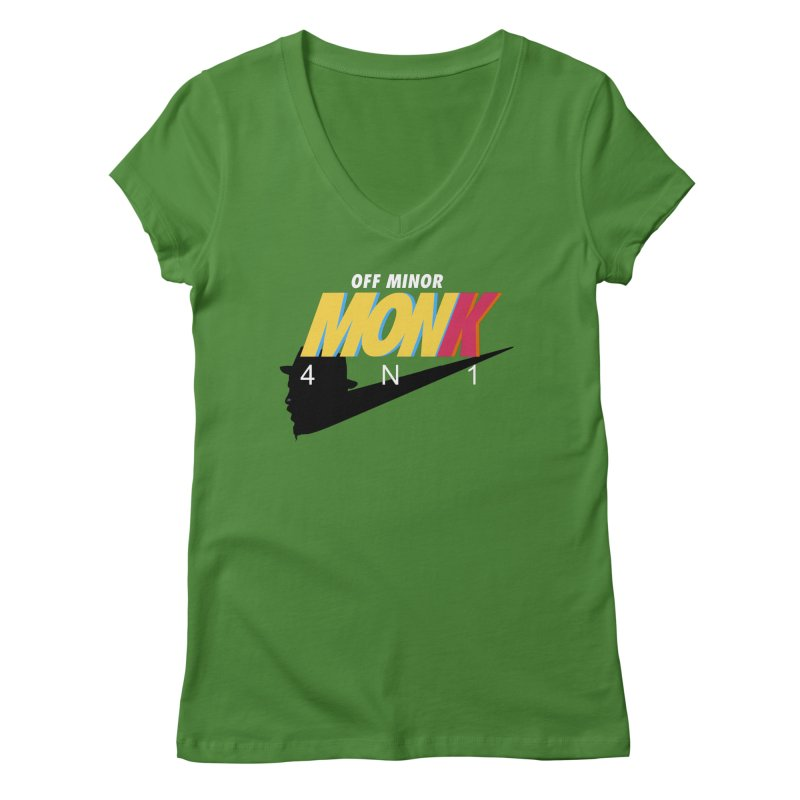 Air Monk 4N1 Women's V-Neck by Cornerstore Classics