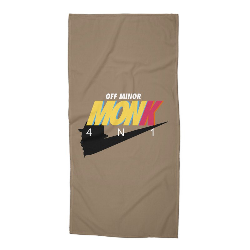 Air Monk 4N1 Accessories Beach Towel by Cornerstore Classics