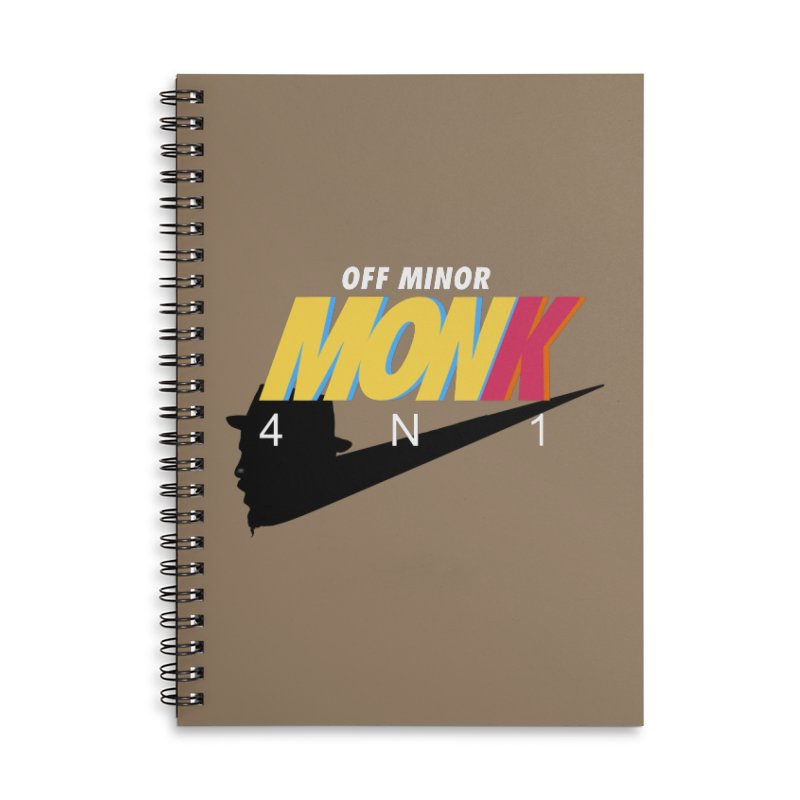 Air Monk 4N1 Accessories Notebook by Cornerstore Classics