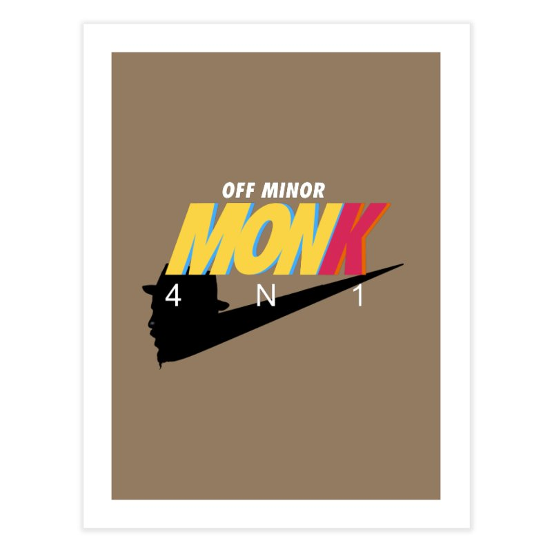 Air Monk 4N1 Home Fine Art Print by Cornerstore Classics
