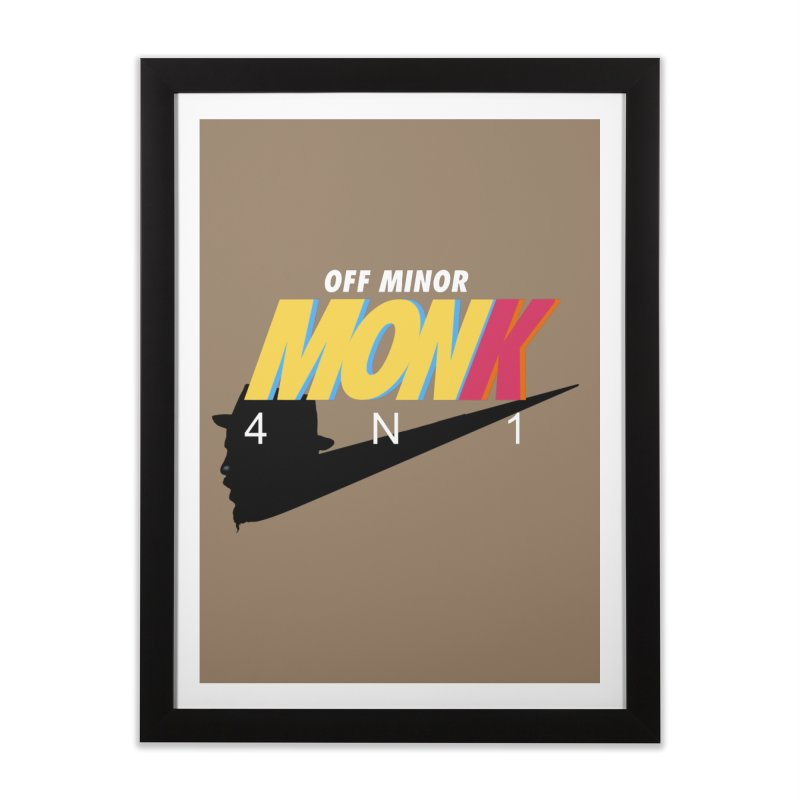 Air Monk 4N1 Home Framed Fine Art Print by Cornerstore Classics