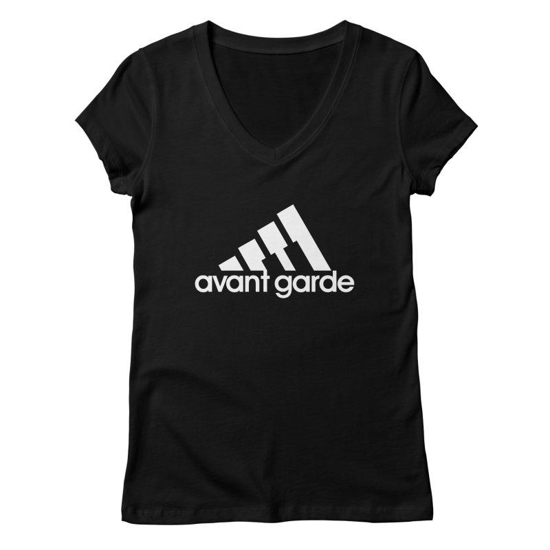 Avant Garde Women's V-Neck by Cornerstore Classics