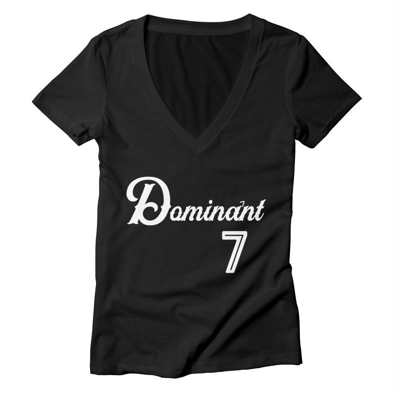 Dominant 7s Women's V-Neck by Cornerstore Classics