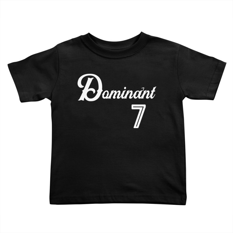 Dominant 7s Kids Toddler T-Shirt by Cornerstore Classics
