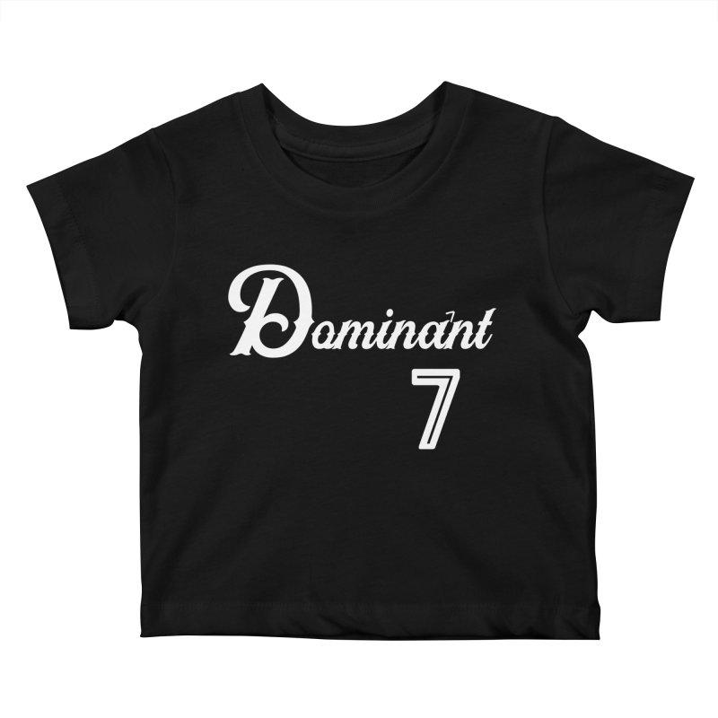Dominant 7s Kids Baby T-Shirt by Cornerstore Classics