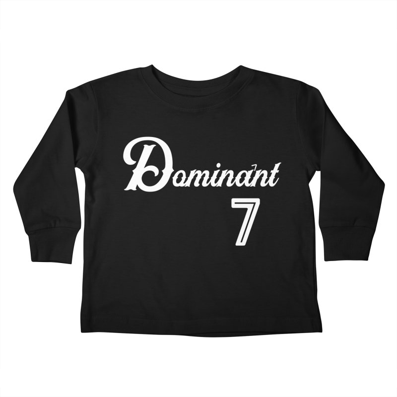 Dominant 7s Kids Toddler Longsleeve T-Shirt by Cornerstore Classics