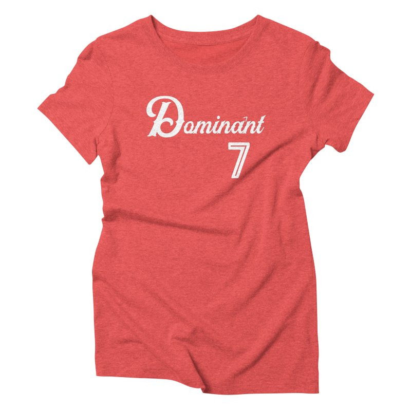 Dominant 7s Women's T-Shirt by Cornerstore Classics