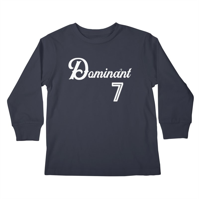Dominant 7s Kids Longsleeve T-Shirt by Cornerstore Classics