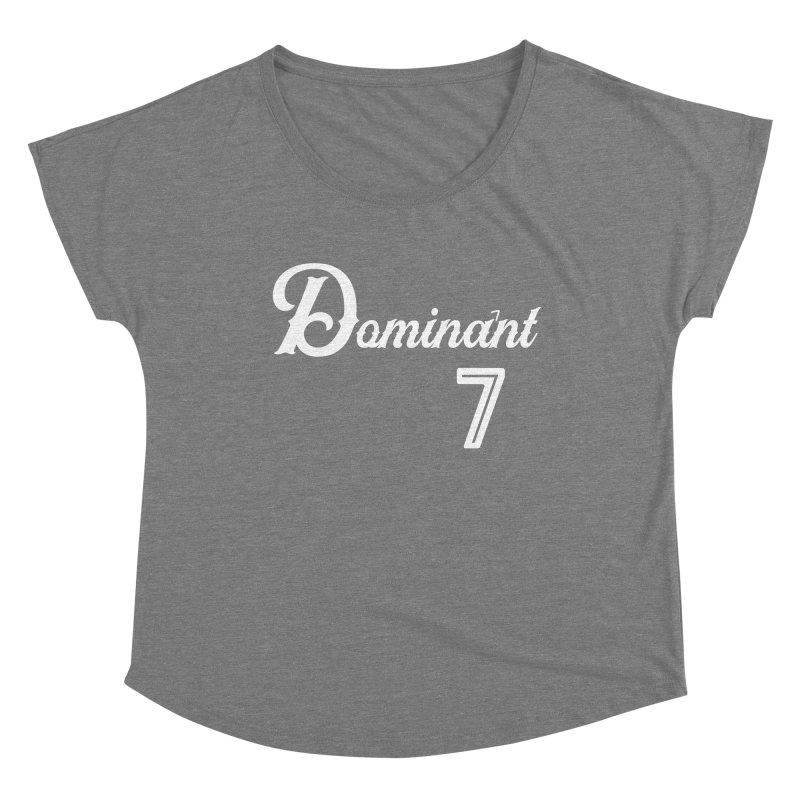 Dominant 7s Women's Scoop Neck by Cornerstore Classics