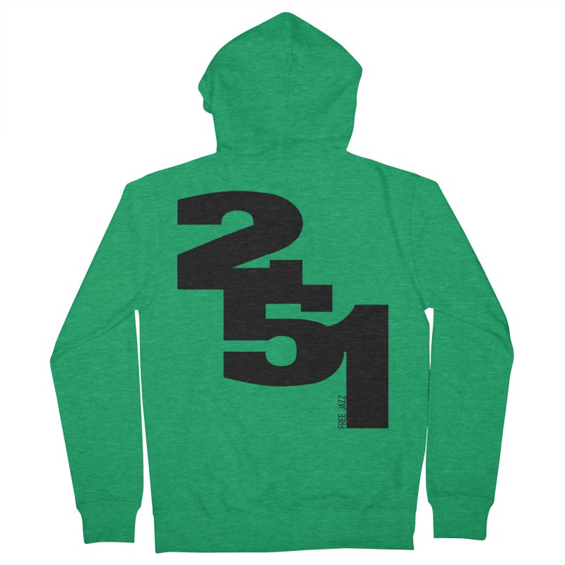 2 5 1 Women's Zip-Up Hoody by Cornerstore Classics