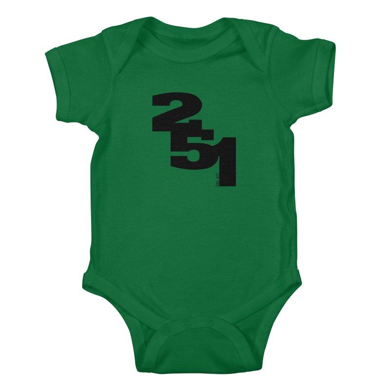 2 5 1 Kids Baby Bodysuit by Cornerstore Classics