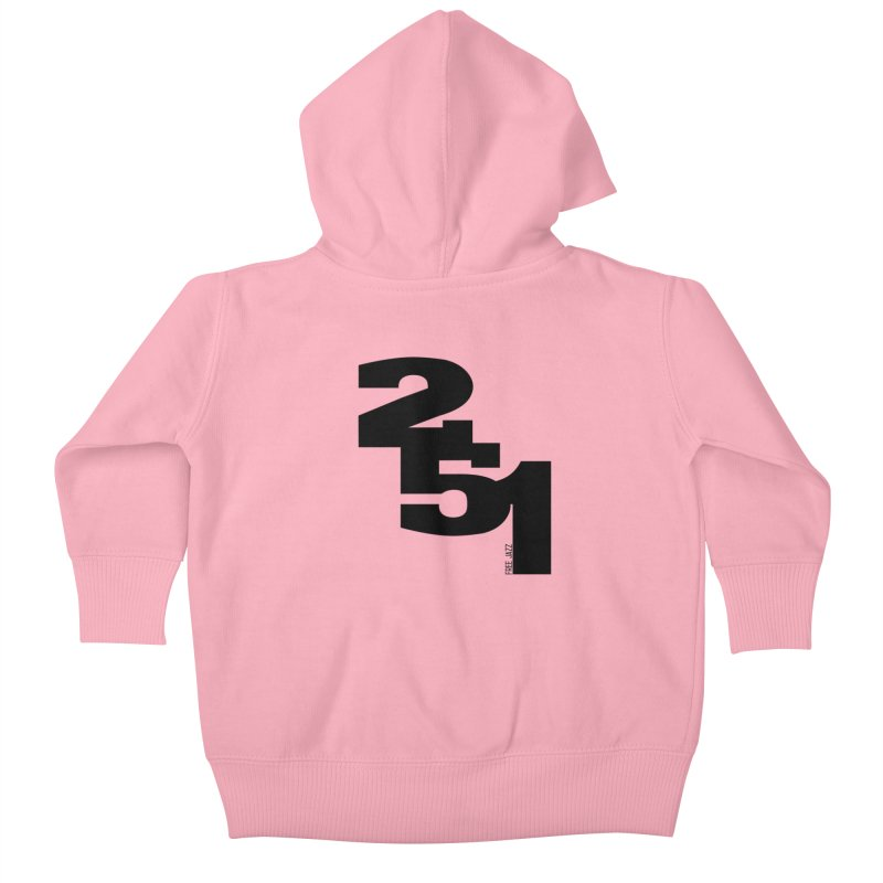 2 5 1 Kids Baby Zip-Up Hoody by Cornerstore Classics