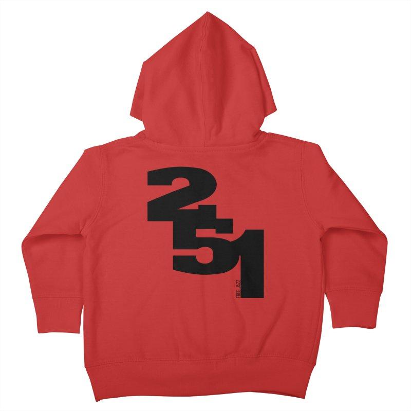 2 5 1 Kids Toddler Zip-Up Hoody by Cornerstore Classics