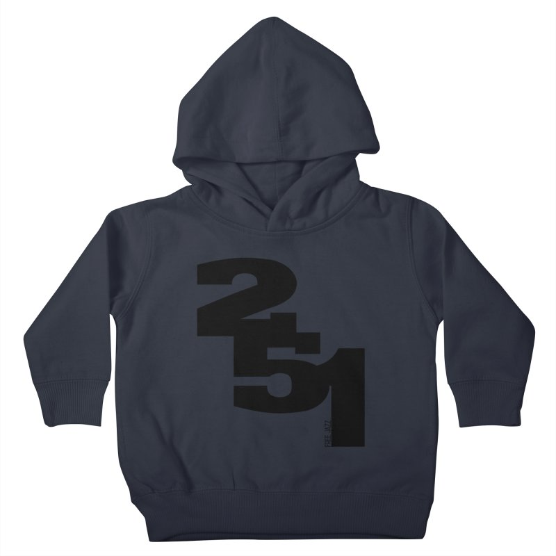 2 5 1 Kids Toddler Pullover Hoody by Cornerstore Classics