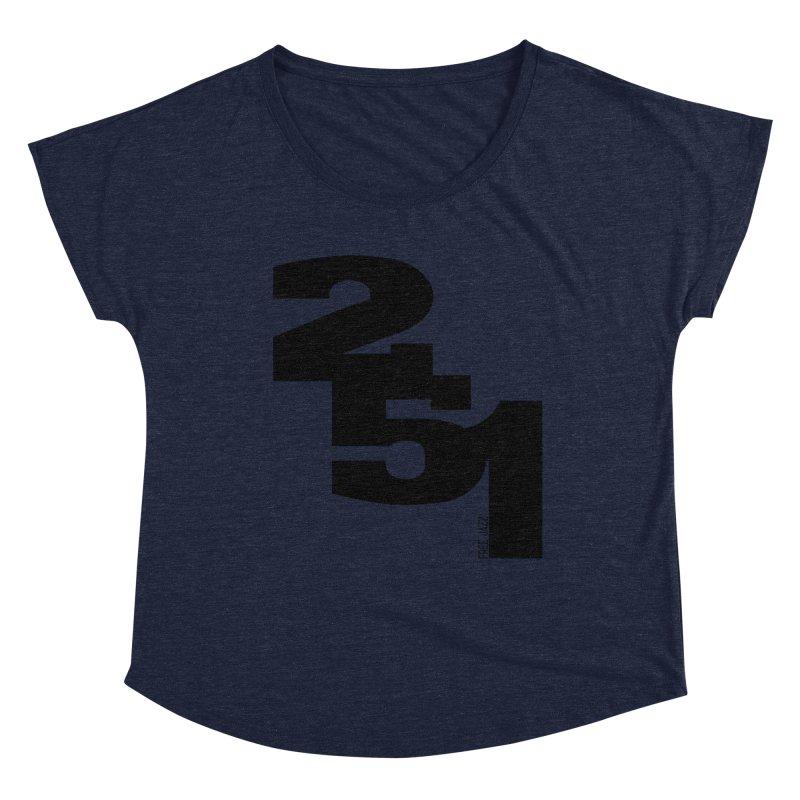 2 5 1 Women's Scoop Neck by Cornerstore Classics