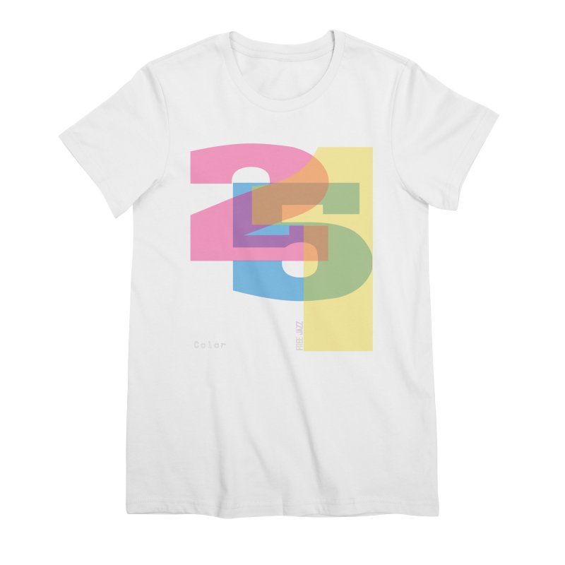 color 2 5 1 Women's T-Shirt by Cornerstore Classics