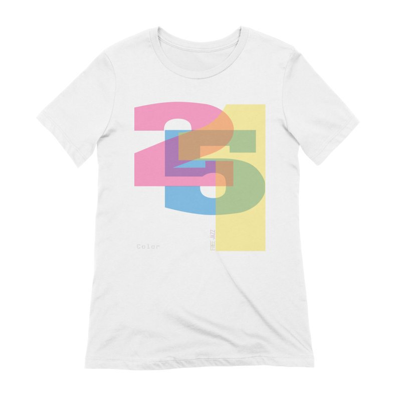 color 2 5 1 Women's T-Shirt by Cornerstore Classics