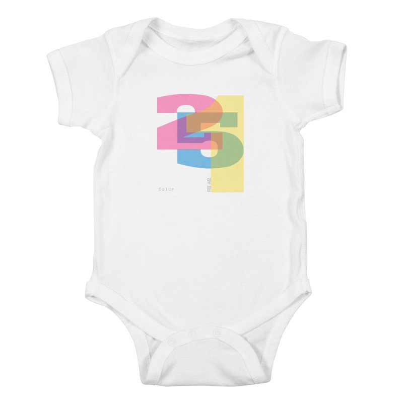 color 2 5 1 Kids Baby Bodysuit by Cornerstore Classics