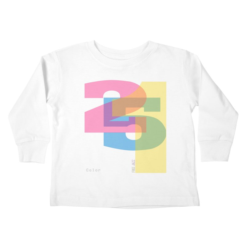 color 2 5 1 Kids Toddler Longsleeve T-Shirt by Cornerstore Classics
