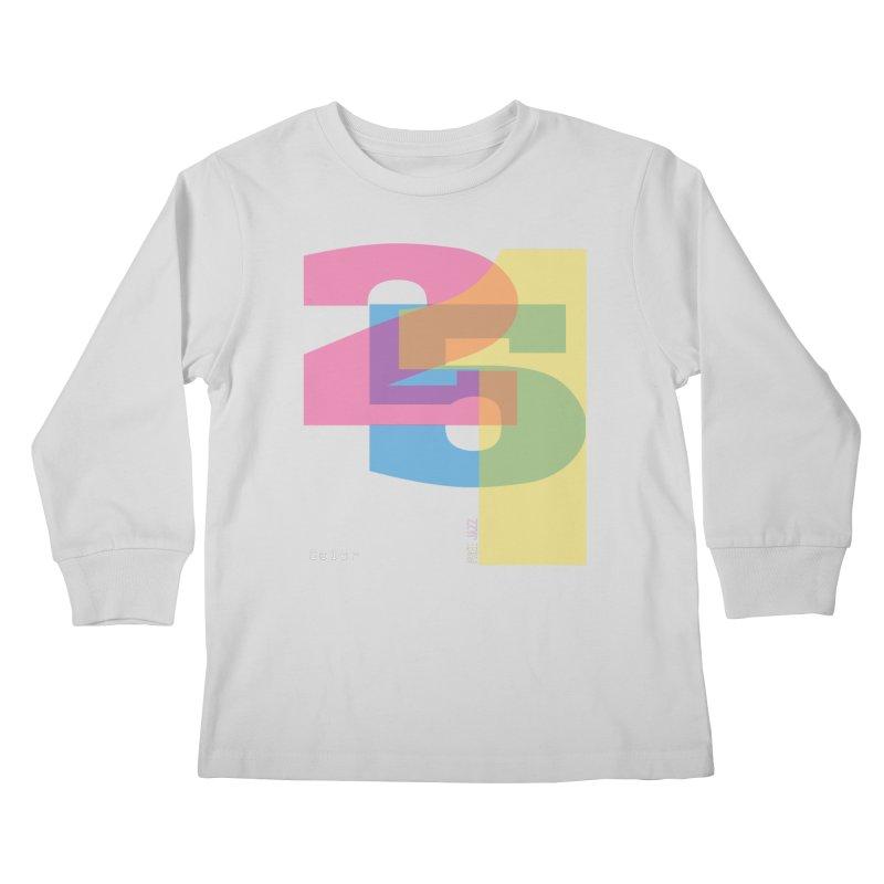 color 2 5 1 Kids Longsleeve T-Shirt by Cornerstore Classics