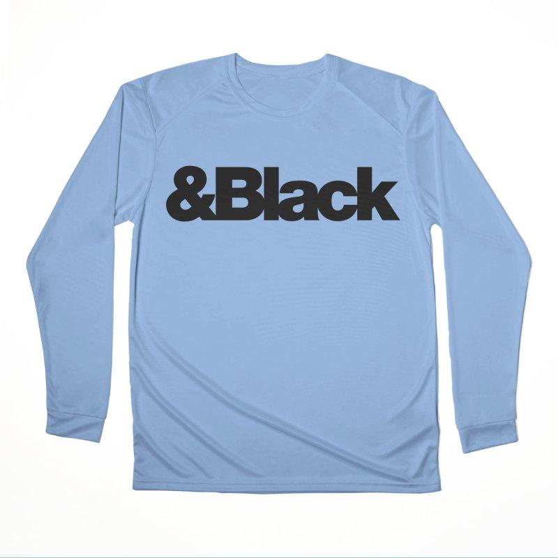 &Black Women's Longsleeve T-Shirt by Cornerstore Classics