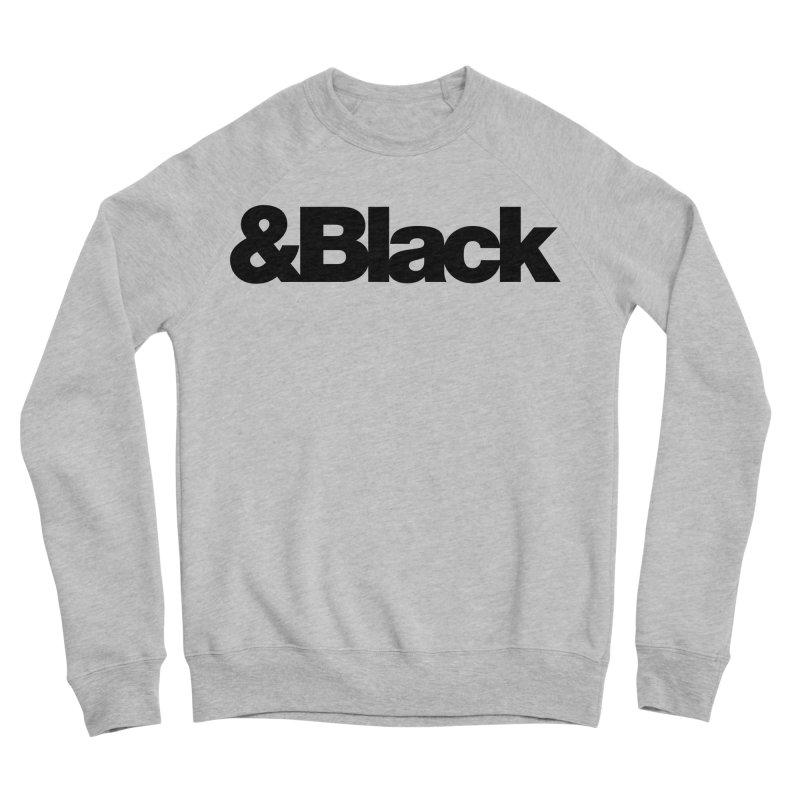 &Black Men's Sweatshirt by Cornerstore Classics