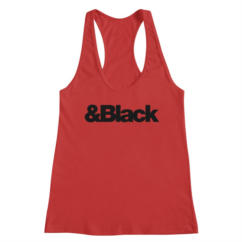 &Black Women's Tank by Cornerstore Classics