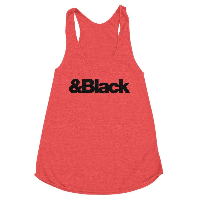 &Black Women's Tank by Cornerstore Classics