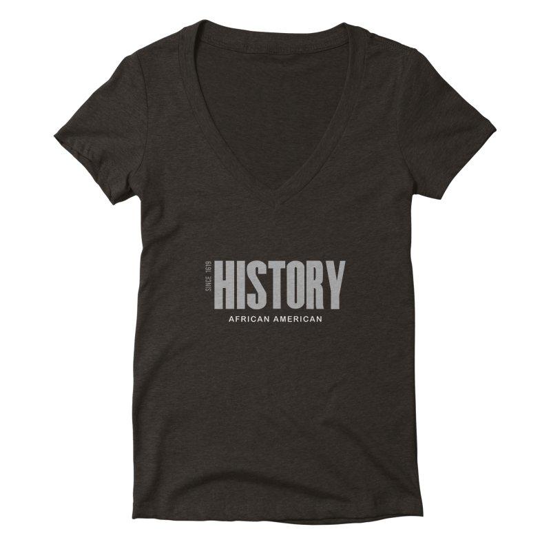 Black History Women's V-Neck by Cornerstore Classics