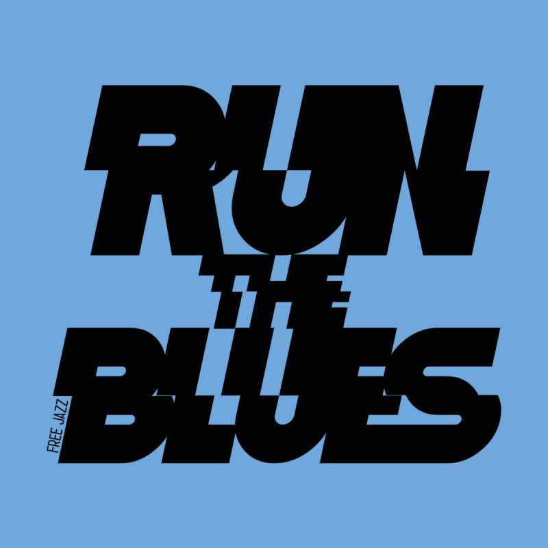 Run The Blues Kids Longsleeve T-Shirt by Cornerstore Classics