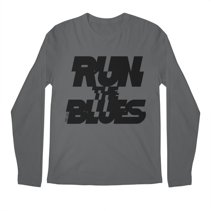 Run The Blues Men's Longsleeve T-Shirt by Cornerstore Classics