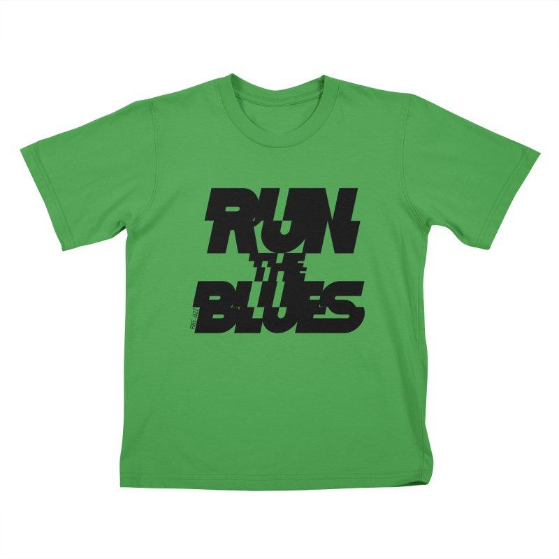Run The Blues Kids T-Shirt by Cornerstore Classics