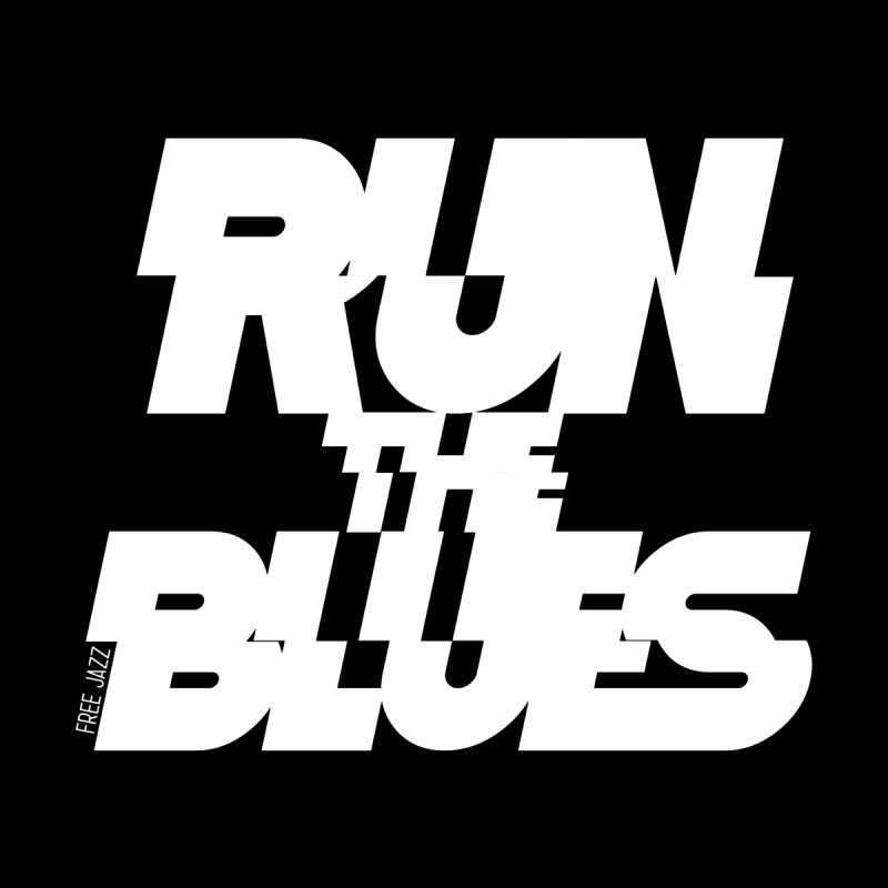 Run The Blues Women's V-Neck by Cornerstore Classics