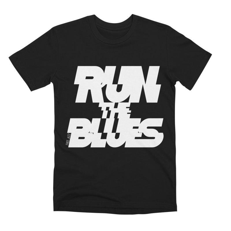 Run The Blues Men's T-Shirt by Cornerstore Classics