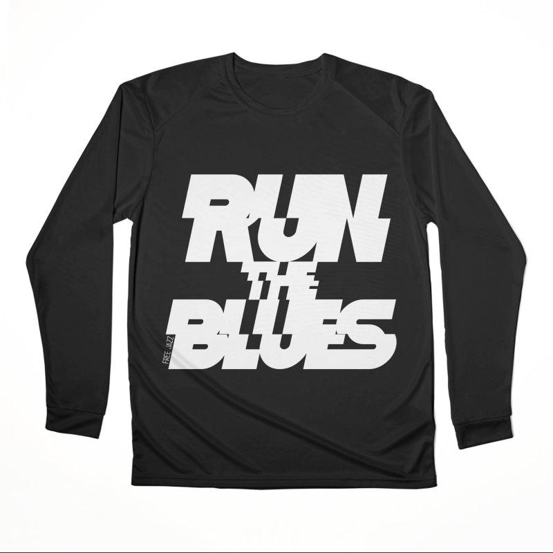 Run The Blues Women's Longsleeve T-Shirt by Cornerstore Classics
