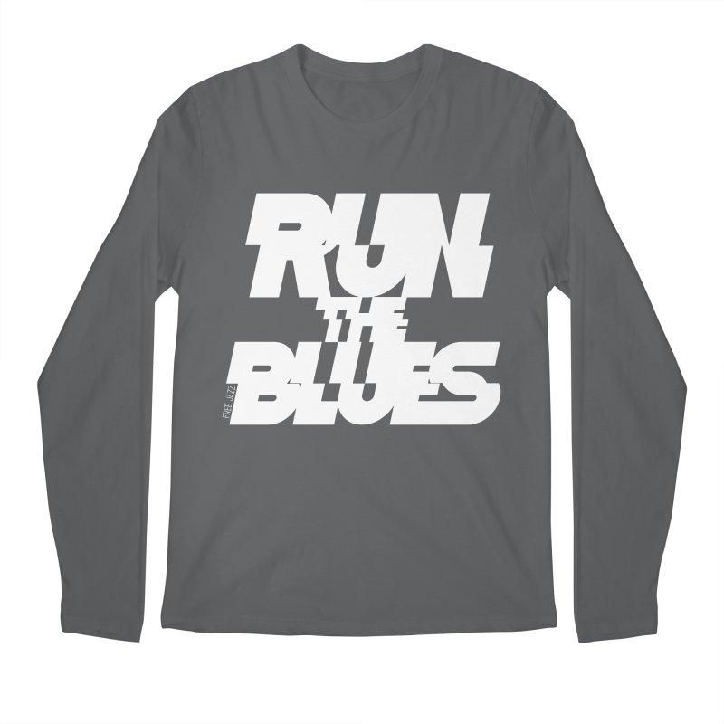 Run The Blues Men's Longsleeve T-Shirt by Cornerstore Classics