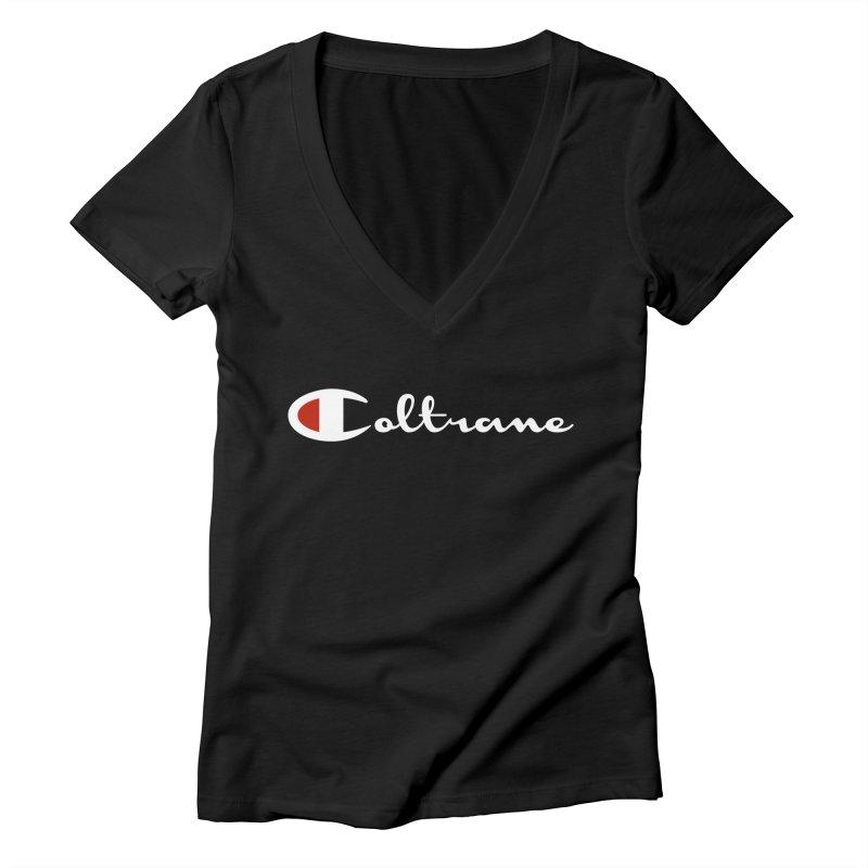 Coltrane Athletics Women's V-Neck by Cornerstore Classics